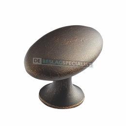 Knop Aerdenhout donker antiek brons