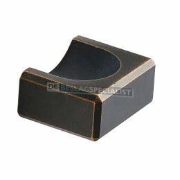 Knop Fold 18x32x40mm donker antiek brons