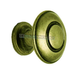 Nautilus knop 31mm H-26mm antiek brons