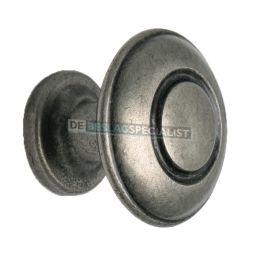 Nautilus knop 31mm H-26mm oud tin