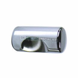 Stiftknop 12x24mm gl.chroom