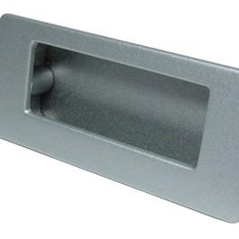 Infreeskom rechthoekig 64X82mm H-36mm chromo look