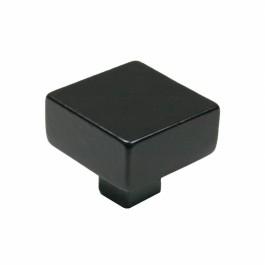 Knop Telfort 40mm mat zwart
