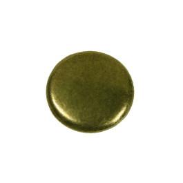 Paddestoelknop 32mm H-24mm antiek brons