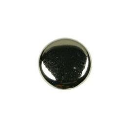 Paddestoelknop 32mm H-24mm glimmend nikkel