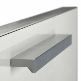 Rechte greep aluminium