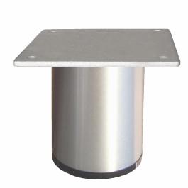 Ronde aluminium poot Ø60mm