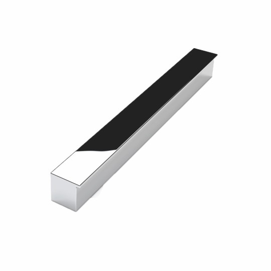 Step greep aluminium hooglans chroom